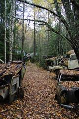 Bstns (Planefan2001) Tags: autumn cars scrapyard bstns