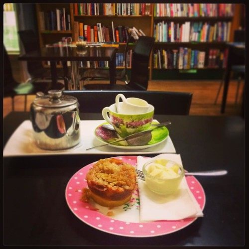 307/365 • mental health break • #307_2015 #tea #books #Spring2015