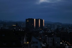 Rorschach - Stadtwald (Kecko) Tags: city building geotagged schweiz switzerland evening abend europe suisse swiss kecko ostschweiz rorschach stadt sg svizzera hochhaus stadtwald 2015 swissphoto geo:lon=9485106 geo:lat=47475230