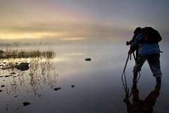 The Photographer (Tony Armstrong-Sly) Tags: england mist water landscape photographer lakes lakedistrict earlymorning ullswater thephotographer outdoorphotographer