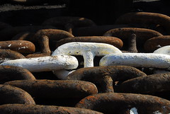 Chain Links... (Gunnar Eide) Tags: ocean sea yard dock ship transport chain maritime shipping links tanker tankers odfjell