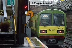 8611 departs Dún Laoghaire, 12/12/15 (hurricanemk1c) Tags: irish train rail railway trains railways dart irishrail dunlaoghaire 2015 dúnlaoghaire iarnród 8611 éireann iarnródéireann tokyucarcorp class8510 1100howthgreystones