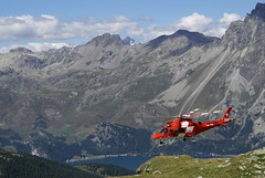 alpine assistance (Riex) Tags: rescue mountains alps alpes landscape schweiz switzerland suisse medical helicopter svizzera paysage a100 engadine montagnes rega firstaid amount helicoptere graubnden grisons graubunden premierssecours sal1680z secouristes minoltaamount carlzeisssonyf35451680mm variosonnartdt35451680