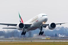 PERO8258 (Petar Meznarek) Tags: airport cargo emirates zagreb boeing luka gorica aerodrom b777 pleso velika zracna mzlz