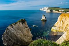 Freshwater Bay, Isle of Wight (Rogpow) Tags: fuji isleofwight fujifilm freshwaterbay fujixt1