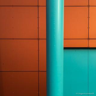Turquoise pole