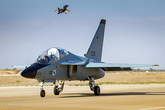 Long live the new king! (xnir) Tags:  its israel big shoes force with air some master service a4 iconic skyhawk fill nir the in lavi iaf benyosef ayit successor m346 xnir