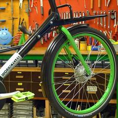 WorkCycles Fr8 Straight 2015 (@WorkCycles) Tags: aanbieding actie amsterdam bicycle bike bikes cargo dutch edition fiets fietsen fr8 gr8 green kr8 sale special werkplaats winter workcycles workshop