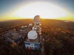 NSA spy station (h-e-n-r-y) Tags: gopro drone dji urbex nsa berlin spy