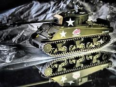 M4A3 Sherman (Luicabe) Tags: arma cabello carrodecombate enazamorado estudio interior luicabe luis maqueta modelismo profundidaddecampo reflejo sherman tanque vehculo yarat1 zamora zoom