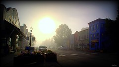 Colorado Sunrise (Antonia Quest Photography/Larry Moore--Thanks<scri) Tags: crested butte colorado fog morning street mountains photography photo picture image travel aq
