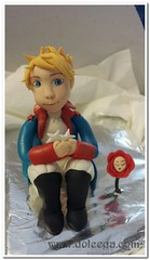 Piccolo Principe (Dolcegacreations) Tags: piccoloprincipe principe prince littleprince topper wwwdolcegacom dolcegacreations dolcega lepetitprince pastadizucchero sugarpaste pdz