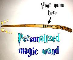Custom name Magic wand. Personalized custom name magic wand. Harry Potter magic wand. After all this time? Always. Personalized magic wand. (john bonham2) Tags: | magicwand personalizedmagicwand custommagicwand harrypotter harrypotterwand personalized custom name printed magic wand always harry potter