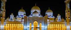 DSCF3615-1 (Vedaante) Tags: abu dhabi sheikh zayed grand mosque architecture uae beautiful glittering holidays reflection spiegelung thomae emirates united arab vereinigte arabische emirate moschee islam glaube architektur nightshot long expousre