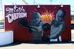 Coney Island - Coney Art Walls: Mister Cartoon (wallyg) Tags: brooklyn coneyartwalls coneyisland kingscounty newyork newyorkcity ny nyc streetart mistercartoon mural
