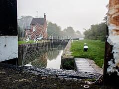 Cobweb on the Grand Union Canal (c.richard) Tags: grandunioncanal barge narrowboat