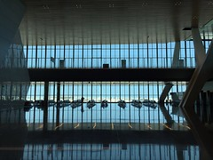 Hamad International Airport (osteras) Tags: reflection window hamad airport qatar doha