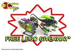 FREE LEGO GIVEAWAY!!!!!!!!!!!!!!!!!!!!!!!!!!!!!!1!!!!!!!111!!!!111 (A Plastic Infinity) Tags: creationsforcharity lego moc pleasethinkofthechildren