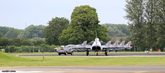 line up J78A2225 (M0JRA) Tags: riat air tattoo airshows planes aircraft jets flying