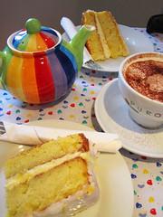 Cake time (Zozu9) Tags: tea cake coffee snack colourful cornwall