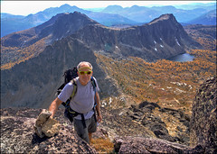 Knoll on Cathedral Peak 1 (@GilAegerter / klahini.com) Tags: nikon nikkor mountains climbing scrambling backpacking 2550mmf4ais cathedralpeak manualfocus manuallens