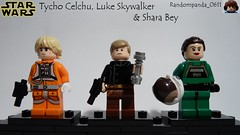 Tycho Celchu, Luke Skywalker & Shara Bey (Random_Panda) Tags: star wars films film movie movies tv show shows television lego figs fig figures figure minifigs minifig minifigures minifigure purist purists character characters rebel rebels luke skywalker