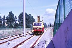 Once upon a time - The Netherlands - Nieuwegein Doorslag (railasia) Tags: holland provinceutrecht nieuwegein doorslag sun roadrailvehicle infra construction eighties