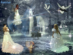 BLUE FAIRY !!!!!!!!!!!! (christabelle12300( trs ,trs peu prsente )) Tags: wow flickrlovers