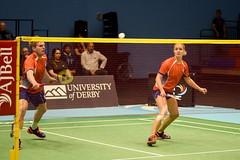 NBLmatch-5100-0280 (University of Derby) Tags: 5100 badminton nbl sportscentre universityofderby match