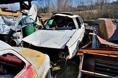 volkswagen golf GTD (riccardo nassisi) Tags: auto abbandonata abandoned rust rusty relitto rottame ruggine ruins rottami scrap scrapyard epave piacenza pc fiat officina decay urbex