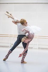 Steven McRae and Sarah Lamb in rehearsal for Anastasia, The Royal Ballet © 2016 ROH. Photograph by Tristram Kenton (Royal Opera House Covent Garden) Tags: anastasia bykennethmacmillan rehearsal production rehearsalphoto theroyalballet stevenmcrae sarahlamb