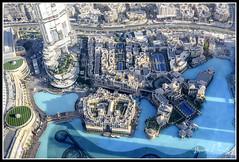 Dubai (Irene Purdie) Tags: dubai burj khalifa viewfromabove landscape skyscrapers uae