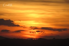 Amarillo (cristinabovary) Tags: sunset sunsets ocaso ocasos amarillo yellow naranja orange sky skies cielo cielos