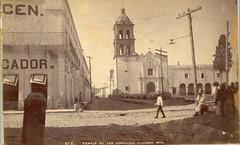 Templo de San Francisco, Durango, ca1890s. (jerodamor@yahoo.com.mx) Tags: ciudad de durango mxico