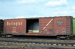 CB&Q Class XML-4 24805 (Chuck Zeiler) Tags: cbq class xml4 23805 burlington railroad box car boxcar freight cicero chz chuck zeiler