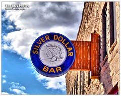 Oct 9 2011 - Cody's Silver Dollar Bar (lazy_photog) Tags: lazy photog elliott photography silver dollar bar cody wyoming clouds sky western 100911motorcycleridetocody