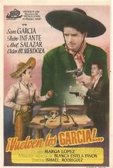 Vuelven los Garca (Kirby York) Tags: cine clasico mexicano carteles programasdemano mexicanfilms latinamericanfilms