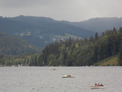 Titisee,Germany (Shaun Smith-Milne) Tags: schwarzwald blackforest fortnoir pedallo pdalo bateauxdeplaisance pleasureboats titisee germany allemagne lake lac