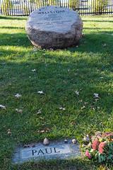 Wellstone 1s (Greg Riekens) Tags: wellstone paulwellstone minneapolis lakewood minnesota headstone grave cemetery senator usa