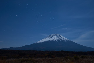 Mt.Fuji with Orion