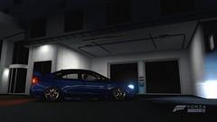 Forza51 () Tags: subaru sti wrx impreza blue midnight dark night shot forza horizon 3 fh3 stance low fitment offset