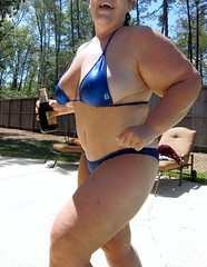 Blue Bikini (ThickCpl) Tags: pool bikini