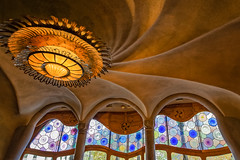 Casa Batllo Light and Windows (Glenn Shoemake) Tags: canonef1635f28lii gaudi casabatllo barcelona