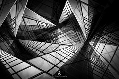 Image Illusion - Composition V (Dez Karpati Photography) Tags: dezkarpati photo photography photoart foto fineart bw blackandwhite monochrome abstract modern dark dramatic famous architecture building city collage forthlauderdale florida fl