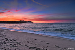 Pebble Beach, CA (Josecastro01) Tags: beach california sunset colors ocean canon 6d cpl gnd seaside outdoor shore coast sea sand landscape