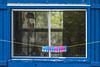 Jimtown Clothesline (fotofrysk) Tags: cottage blue clothesline pins clothespins window eastcoasttrip canada novascotia antigonish jimtown nikond7100 201610317856