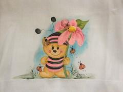 1557597_648362355228067_560965845_n (jovanapinturas) Tags: pinturasjovana pinturas em tecido artesanato artes artes decorativas casa decorao tecidos toalhas decoradas fraldas panos decorados pintura pano