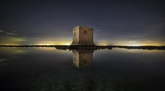 Santa Pola (Miguel ngel Gimnez-Murcianico) Tags: santa pola alicante salinas tamarit moche nocturna nighshot stars