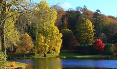 Stourhead - National Trust 071116 (16) (Richard Collier - Wildlife and Travel Photography) Tags: gardens landscapegardens nationaltrust stourhead autumncolours autumn reflection water lakes trees coth5