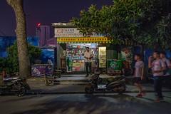 Run, run, run, slowly, stop! (Markus Lehr) Tags: motionblur blue urbanspace longexposure nightshot china markuslehr